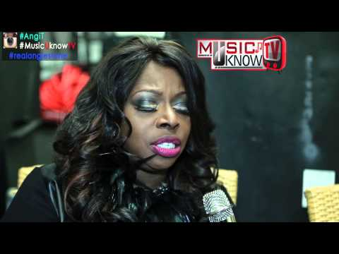 "R&B Diva Angie Stone interview w/Angi T (Performs New Single ""QUITS"")"