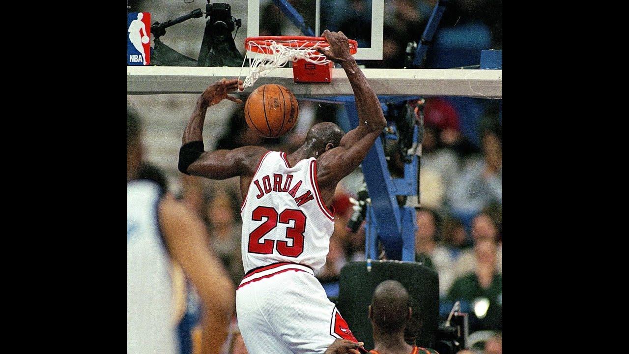 Michael Jordan: Six Missed Free Throw Putback Dunks