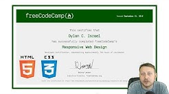 Responsive Web Design Certification Review | FreeCodeCamp Certification