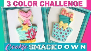 3 COLOR COOKIE CHALLENGE ~ Marlyn & Hani