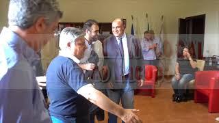 Locri il saluto dei due candidati a Sindaco (by EL)
