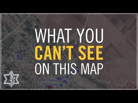 What You Can't See on the UN's Maps of Gaza