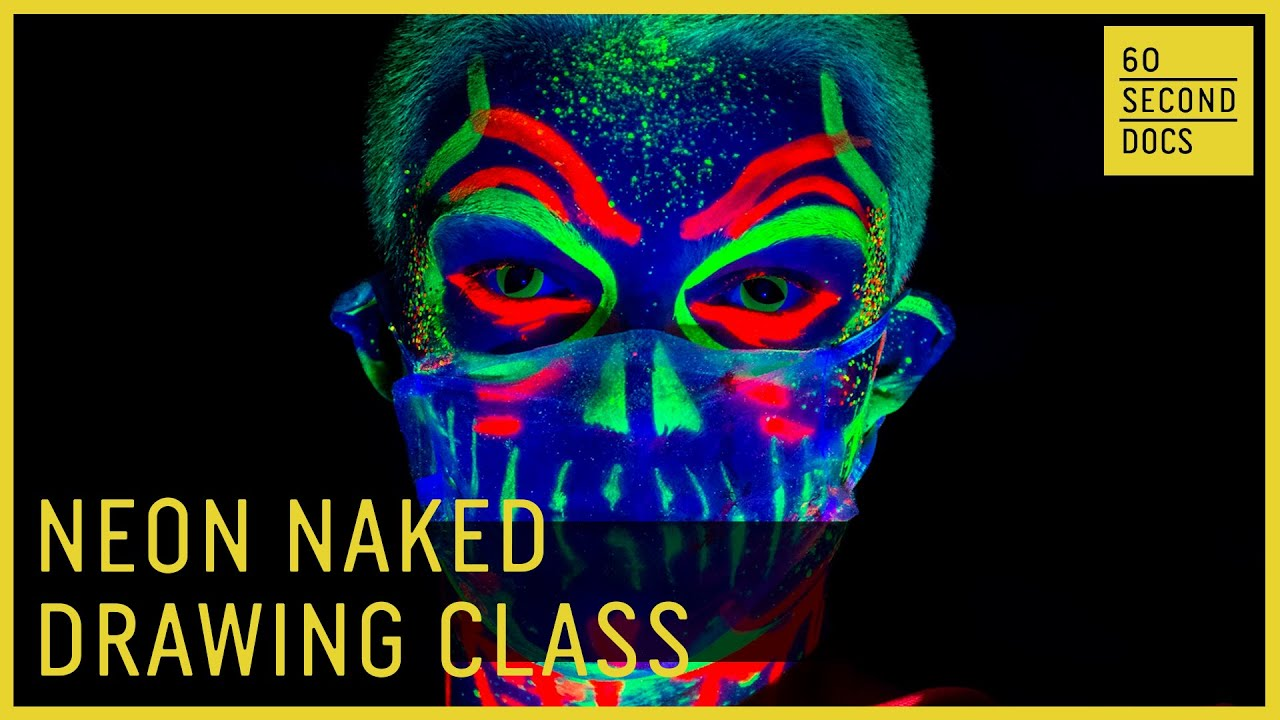 Neon Naked Drawing Class