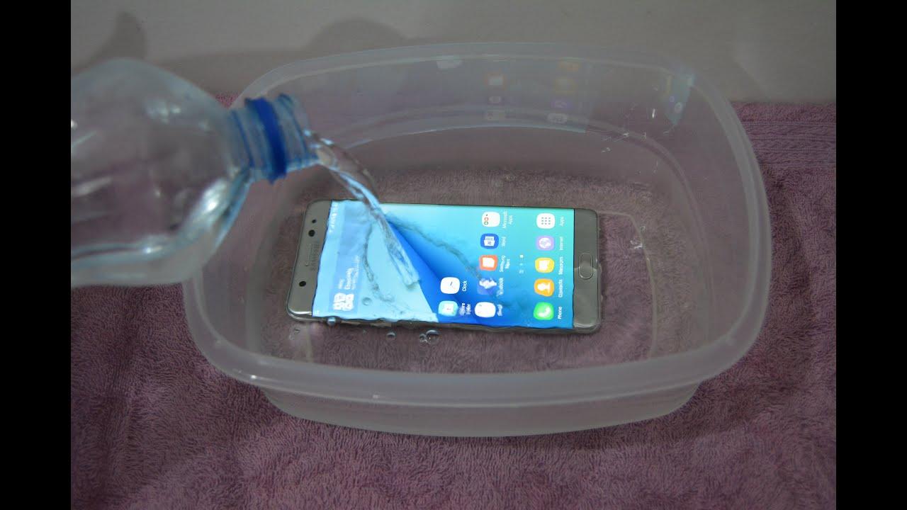 Samsung Galaxy Note 7 - 30 Min Water Test