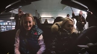 Parking Challenge with Elena Vesnina and Kristina Mladenovic (co-driver)