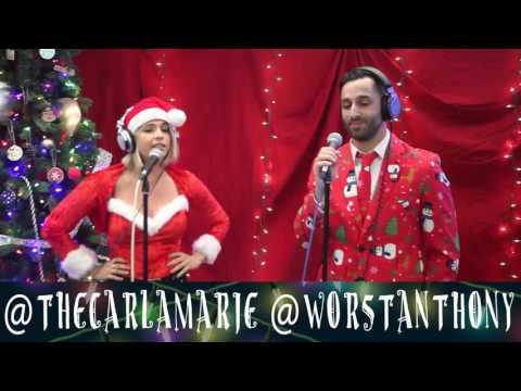 "Anthony & Carla Marie - ""Walking In a Winter Wonderland"" | Christmas Carol-oke"