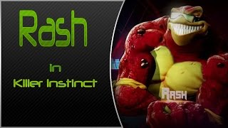 Now Appearing in Killer Instinct From Battletoads - Rash