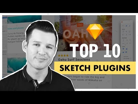 Top 10 Sketch Plugins to Improve your Design Workflow | Sketch for Mac Tutorial