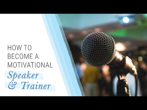 How to Become a Motivational Speaker and Trainer | Jack Canfield