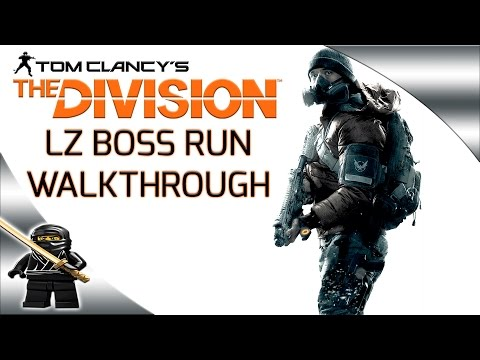 The Division LZ Boss Farming Run Walkthrough Guide (Link to Map in Description)