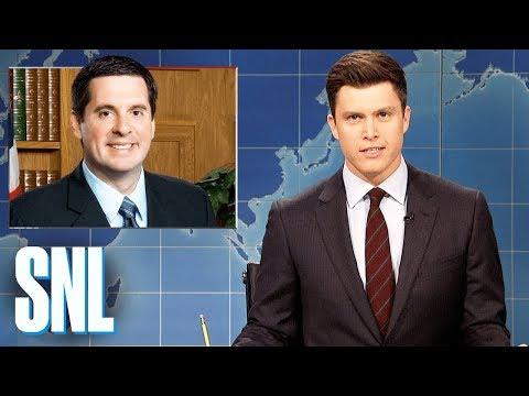 Weekend Update on the Nunes Memo - SNL