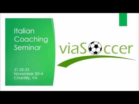 Italian Soccer Coaching Seminar