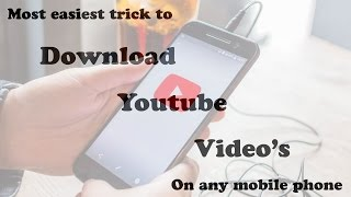 Video simplest way to download youtube video's for mobile phone without any app 2017 download MP3, 3GP, MP4, WEBM, AVI, FLV September 2018