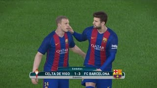 Video Gol Pertandingan Celta Vigo vs FC Barcelona