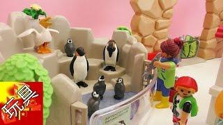 Playmobil  摩比游戏 城市生活系列 神奇 动物园 玩具组 套装拆箱 组装  展示