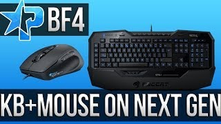 Battlefield 4 - Keyboard & Mouse for Playstation 4 & Xbox One? (BF4 Multiplayer Gameplay PS4 1080p)