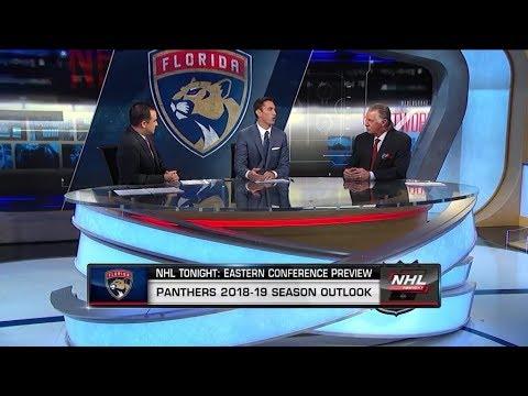 NHL Tonight: Season previews the 2018-19 Florida Panthers  Oct 1,  2018