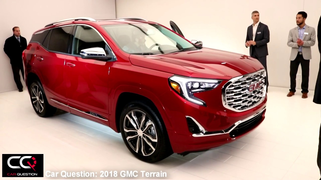 2018 Gmc Terrain Denali White >> 2018 GMC Terrain Denali | Quick Walkaround - YouTube