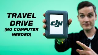 External Hard Drive for Travel — LaCie DJI Copilot BOSS (No Laptop Needed)