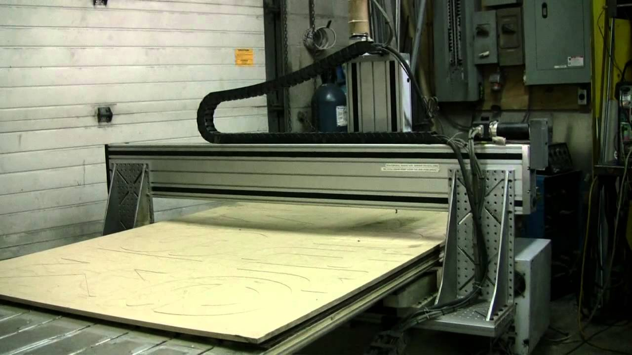 Cnc Router Table >> Techno- Isel CNC Router LX 4896 - YouTube