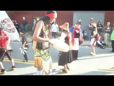 Nahaan and Náakw Dancers at Celebration 2016 Juneau, Alaska Grand Entry