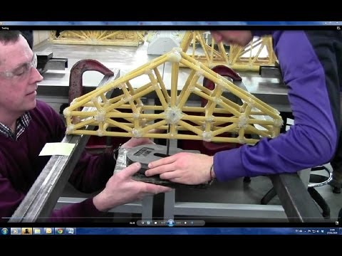 how to make a spaghetti bridge