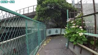 隣駅まで自転車で行く 東船橋駅~船橋駅