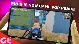 PUBG Mobile Now Game for Peace, iPhone with 3 Camera, Android Q Gestures   GT Hindi