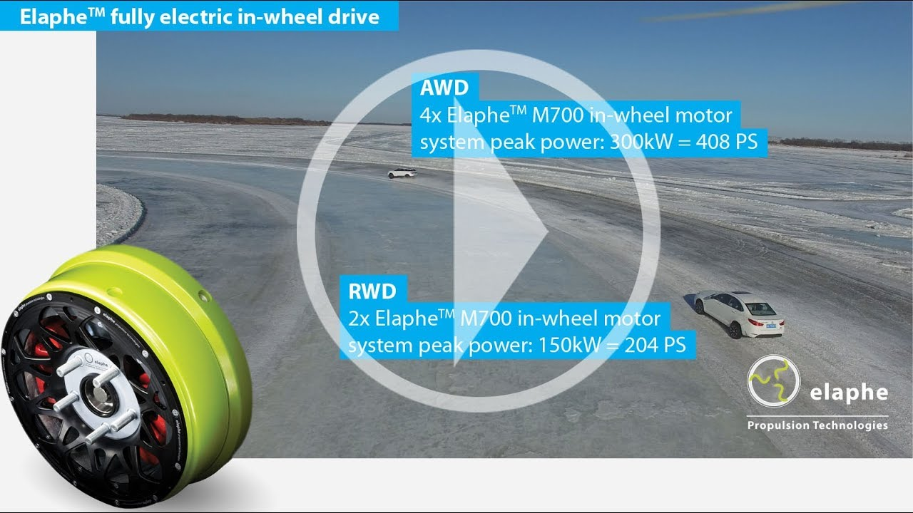 Putting in-wheel toughness to the test in the dead of winter - In-wheel drive winter testing