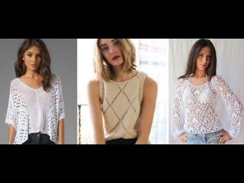 Vestidos crochet verano 2019