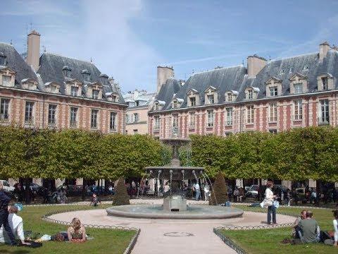 Place des Vosges em Paris