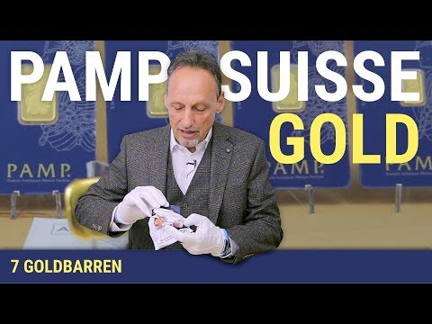 7 GOLDBARREN - PAMP SUISSE GOLD