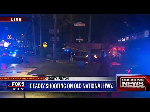 Deadly shooting on Old National Highway
