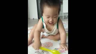 12개월 아기 집에서의 순간 / 육아일상 아기발달 기록
