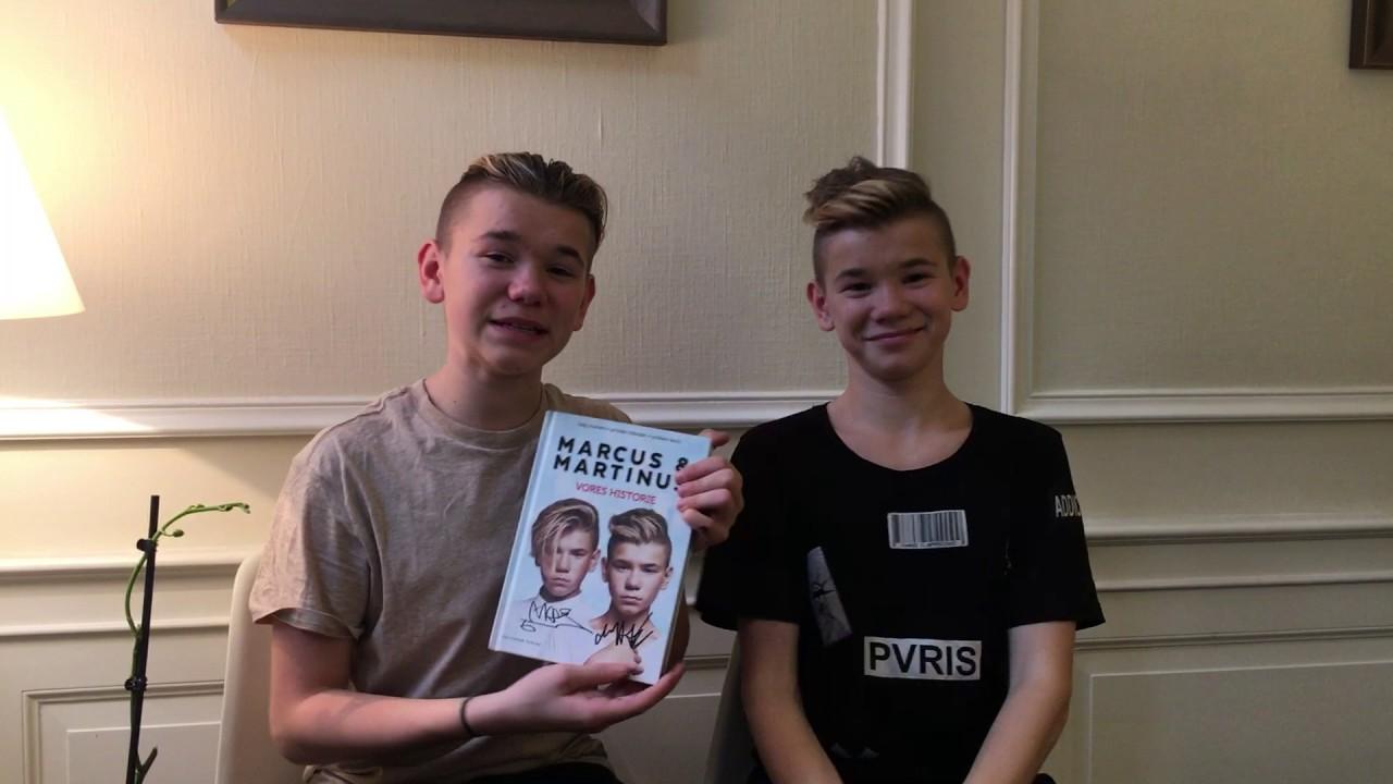 En hilsen fra Marcus & Martinus til Bog & idé! - YouTube