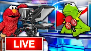 Kermit the Frog and Elmo Buy a News Station! (BSN Network)