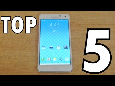 Samsung Galaxy A5 - Top 5 Best Features HD