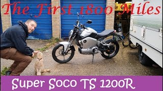 Super Soco TS 1200R, My Impressions After The First 1800 Miles