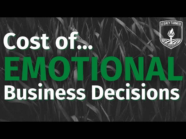 Cost of Emotional Business Decisions