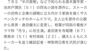 月9「ようこそ、わが家へ」最終回15・0%!有終自己最高締め 2015年...
