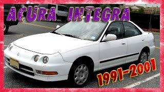 Acura Integra / Sedan (1991-2001) Описание.