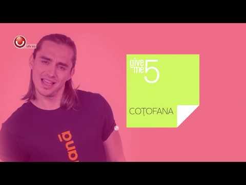 Give Me 5: Cinci lucruri pe care nu le stia nimeni despre Sebastian Cotofana! | @UTV 2019