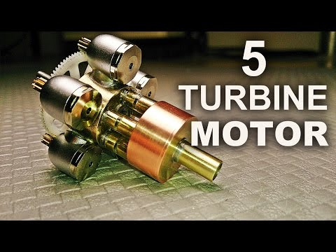 Making A Quintuple Turbine Model Motor