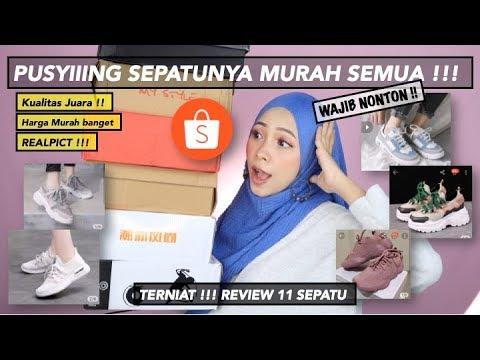 Unboxing 11 Sepatu Rekomendasi Toko Di Shopee Murah Tapi