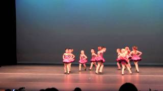 Rhyley's Jazz Dance class performing to Hot Chocolate