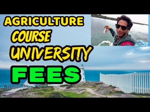 AGRICULTURE COURSES, FEES AND UNIVERSITY |AUSTRALIA