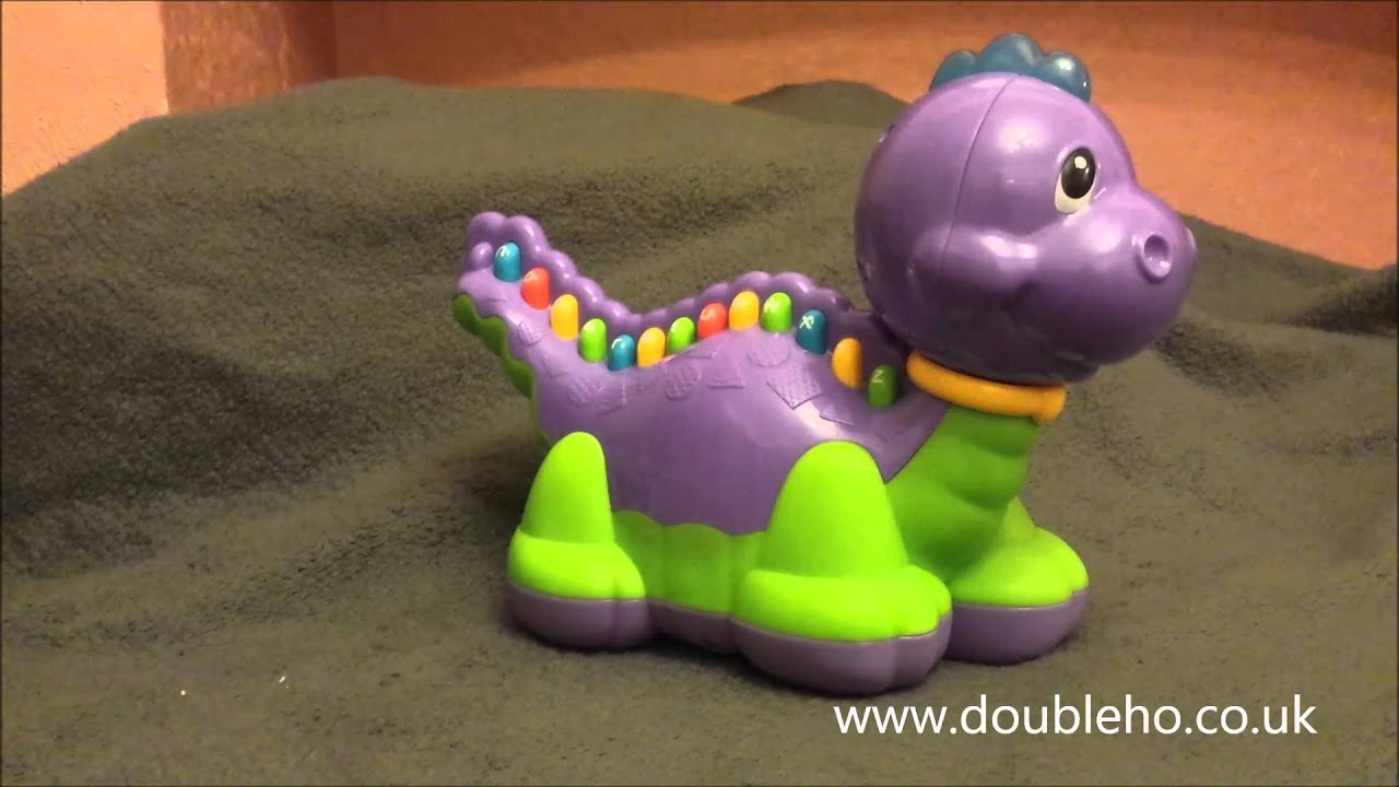 Leap Frog Purple Dinosaur ABC Alphabet Musical Interactive Toy