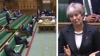 video: Theresa May's Commons speech in full: Boris Johnson's Covid policies in the firing line