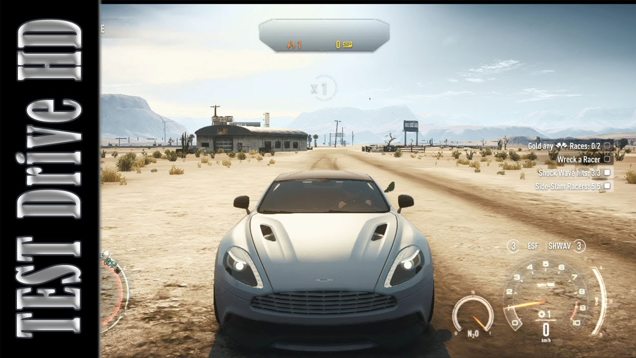 aston martin vanquish - need for speed: rivals - test drive [hd