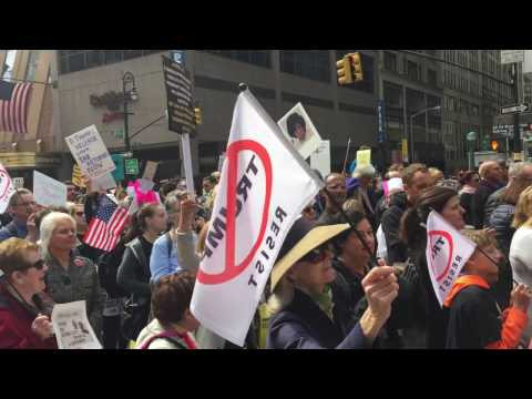 Thumbnail: TAX March April 15 in Manhattan|NYC|Raw Footage|Show You TAXES